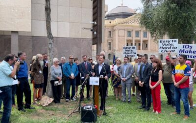 """AZ Lawmakers Launch the """"Arizonans for Voter ID Act"""" – Will Require Voter ID No Matter How, When, Where Ballot Is Cast (WATCH)"""